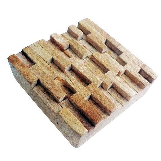 Bouton de meuble Mistral, bois brut
