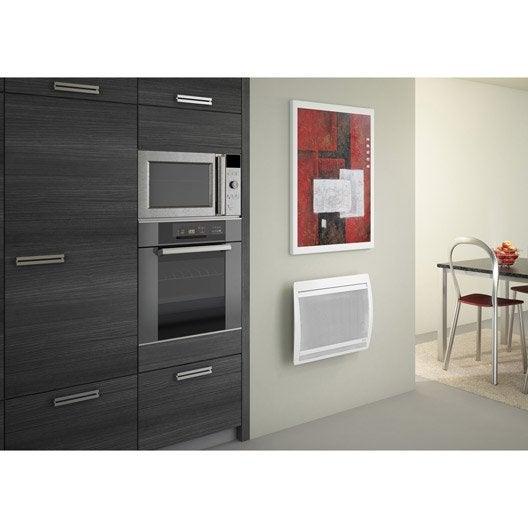 radiateur lectrique rayonnement sauter olivine 750 w leroy merlin. Black Bedroom Furniture Sets. Home Design Ideas