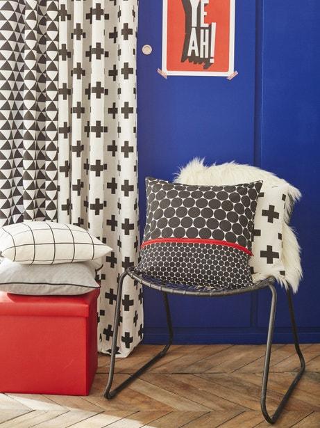 Des motifs géométriques et des couleurs primaires pour votre intérieur