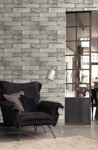 un papier peint trompe l 39 oeil faitde caisses de vins leroy merlin. Black Bedroom Furniture Sets. Home Design Ideas