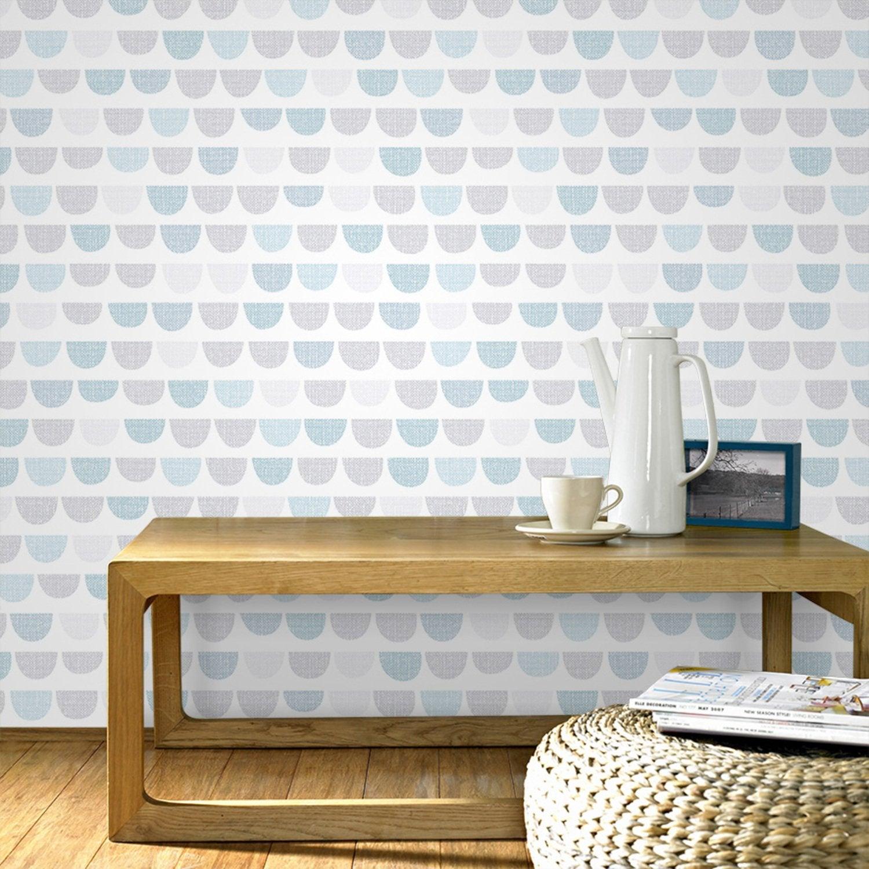 Papier Peint Design Scandinave Fabulous Ton Dlicat Sur Les Murs Et