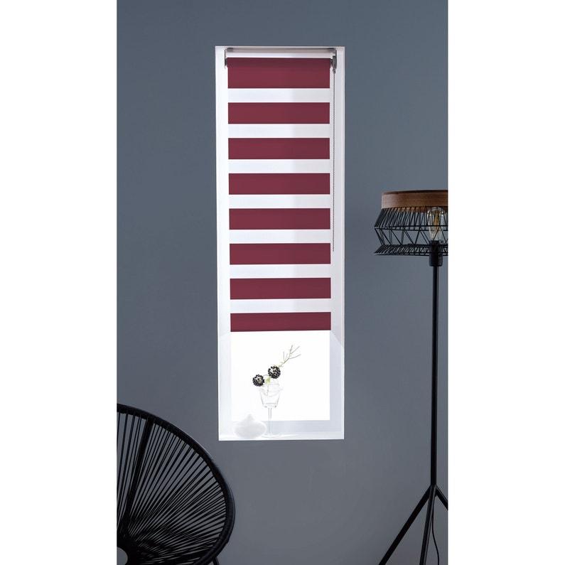 Store Enrouleur Jour Nuit Inspire Rouge Rouge N2 197200 X 250 Cm