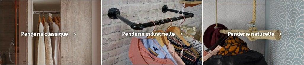 Barre De Penderie Fixation Et Support Pour Dressing Au