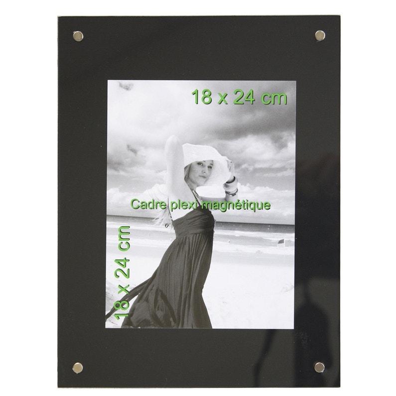 Cadre Magnétique 18 X 24 Cm Noir