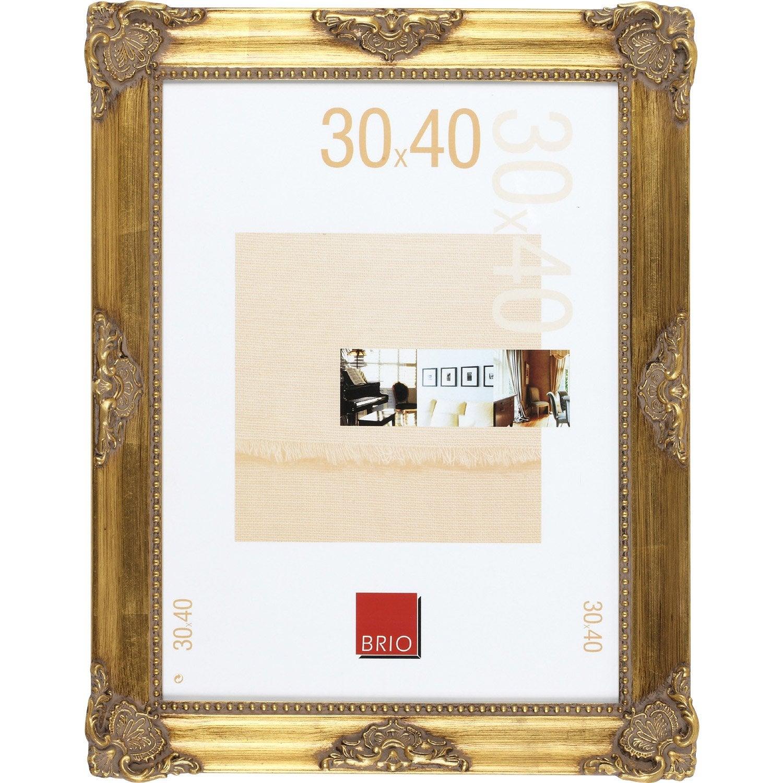 cadre op ra 30 x 40 cm dor e leroy merlin. Black Bedroom Furniture Sets. Home Design Ideas