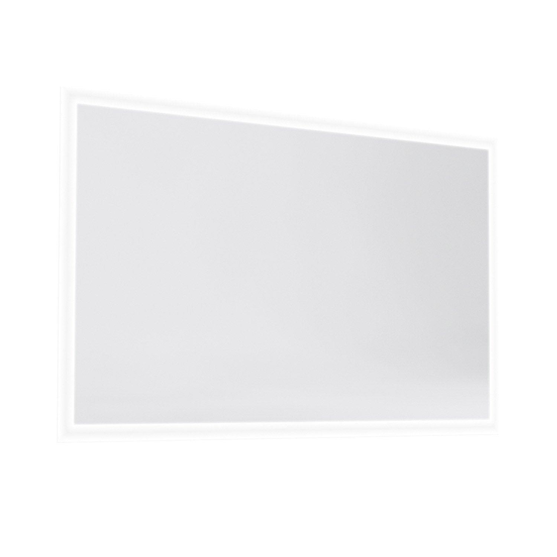 Miroir avec éclairage intégré Opale, l.120 x H.70 | Leroy Merlin