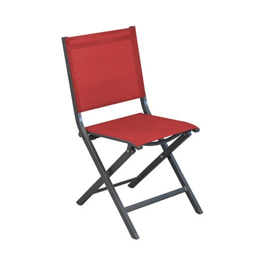 chaise de jardin th ma rouge leroy merlin. Black Bedroom Furniture Sets. Home Design Ideas