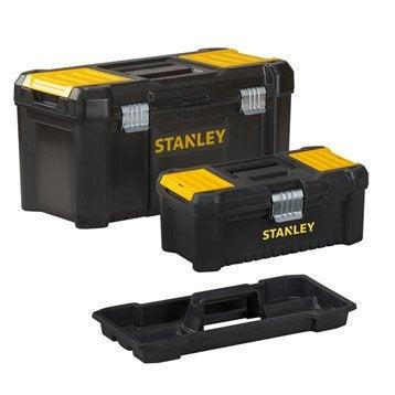 Lot de boîtes à outils STANLEY, L.48 cm, noir