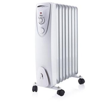 radiateur bain d huile chauffage d appoint 233 lectrique au meilleur prix leroy merlin