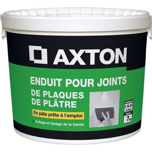 Enduit pour joint en p te axton 7 kg leroy merlin for Pate a joint pour piscine