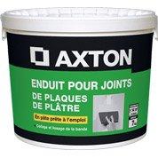 Enduit pour joint en pâte AXTON, 7 kg