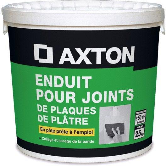 Elegant Enduit Pour Joint Axton Pate Seau Kg Enduit Lissage Leroy Merlin  With Plaque Placo Leroy Merlin