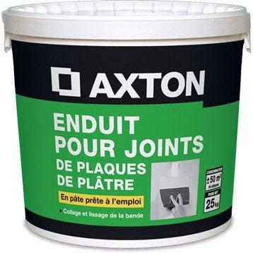 Enduit pour joint en pâte AXTON, 25 kg