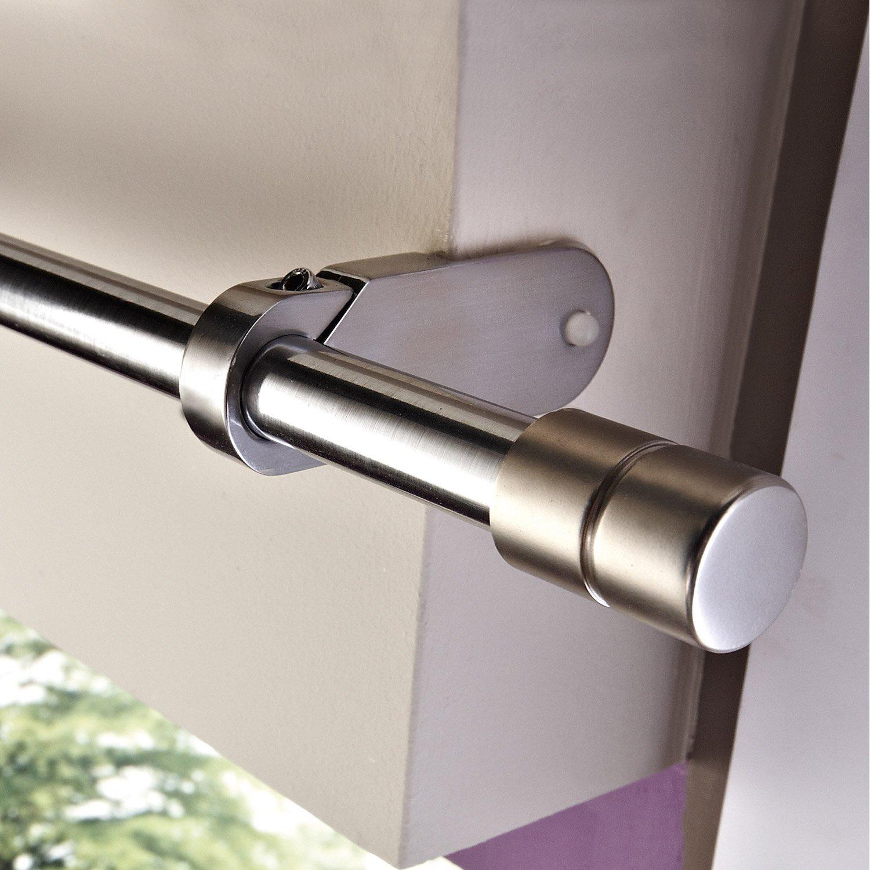 support sans per age tringle rideau ib 25 mm chrom. Black Bedroom Furniture Sets. Home Design Ideas