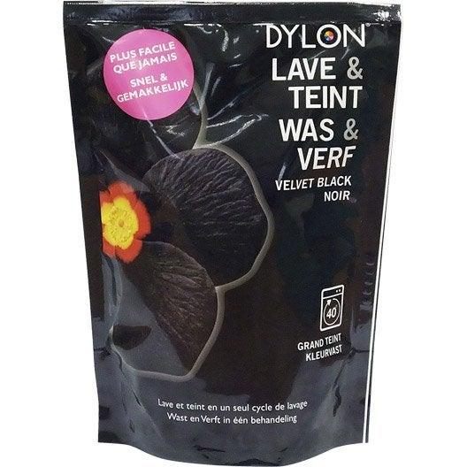 teinture textile dylon noir poudre 400 g leroy merlin. Black Bedroom Furniture Sets. Home Design Ideas