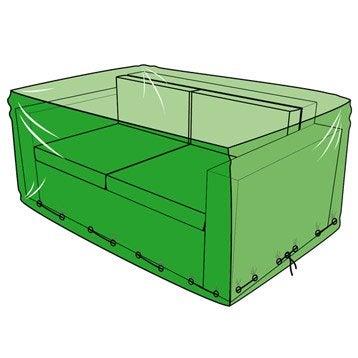 Housse de protection pour canapé L.140 x l.80 x H.60 cm