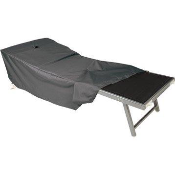 Housse de protection pour bain de soleil NATERIAL L.200 x l.75 x H.45 cm