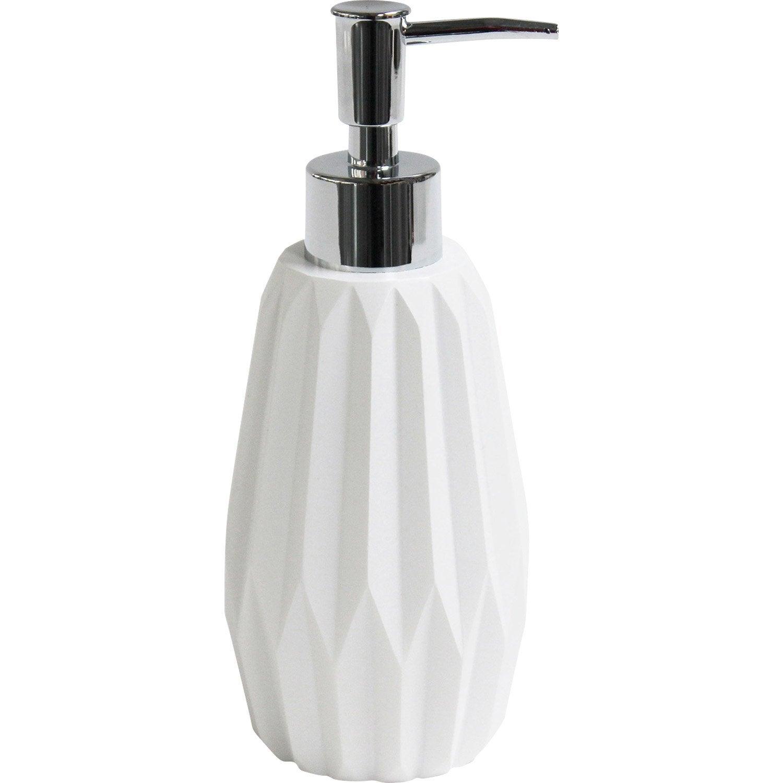 Distributeur de savon Issey, blanc-blanc n°0