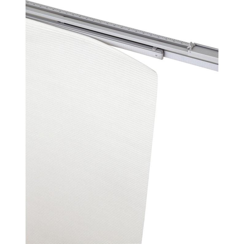 rail extensible pour panneau japonais aluminium blanc cm leroy merlin. Black Bedroom Furniture Sets. Home Design Ideas