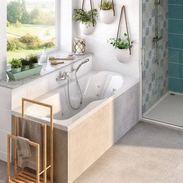 baignoire baln o baignoire baln o spa et sauna au meilleur prix leroy merlin. Black Bedroom Furniture Sets. Home Design Ideas