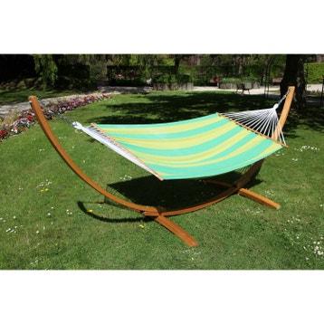 hamac sur pied ou suspendu balancelle de jardin au meilleur prix leroy merlin. Black Bedroom Furniture Sets. Home Design Ideas