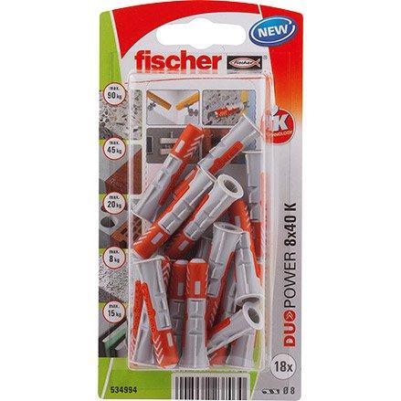 mieux choisir rechercher l'original 100% de qualité supérieure Chevilles à expansion ou à verrouillage de forme FISCHER x L.40 mm