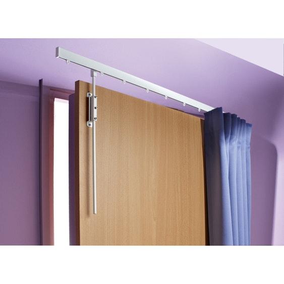 Barre De Rideau Pour Porte barre à rideau pour porte ib+ kit tringle de porte 100 cm pour