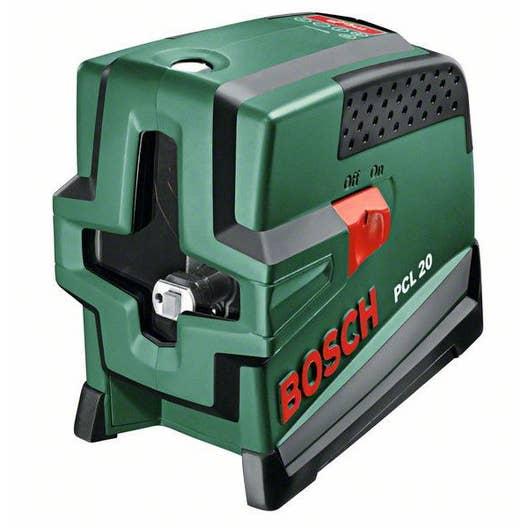 Niveau laser croix automatique bosch pcl 20 set deluxe leroy merlin - Niveau laser leroy merlin ...