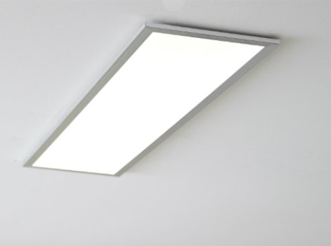 tout savoir sur les panneaux led lumineux extra plats leroy merlin. Black Bedroom Furniture Sets. Home Design Ideas