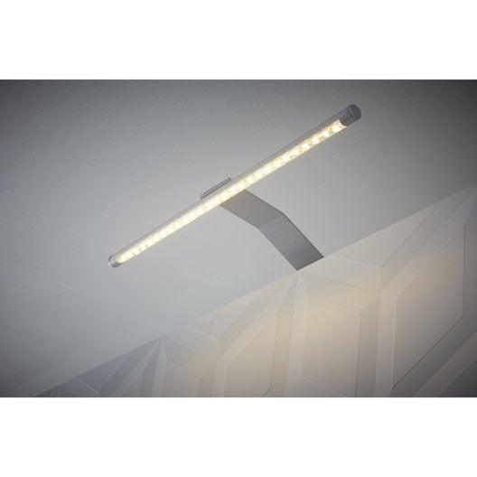 Applique Rio led intégrée INSPIRE 6 W gris lumi¨re blanche