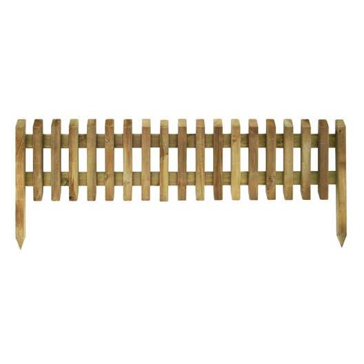 bordure planter pikasso bois naturel x cm leroy merlin. Black Bedroom Furniture Sets. Home Design Ideas