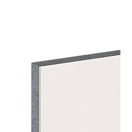 doublage en polystyr ne expans th 32 knauf 2 5 x ep 13 80mm r leroy merlin. Black Bedroom Furniture Sets. Home Design Ideas