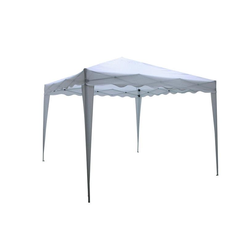 Tente Autoportante Pliable Acier Blanche 9 M