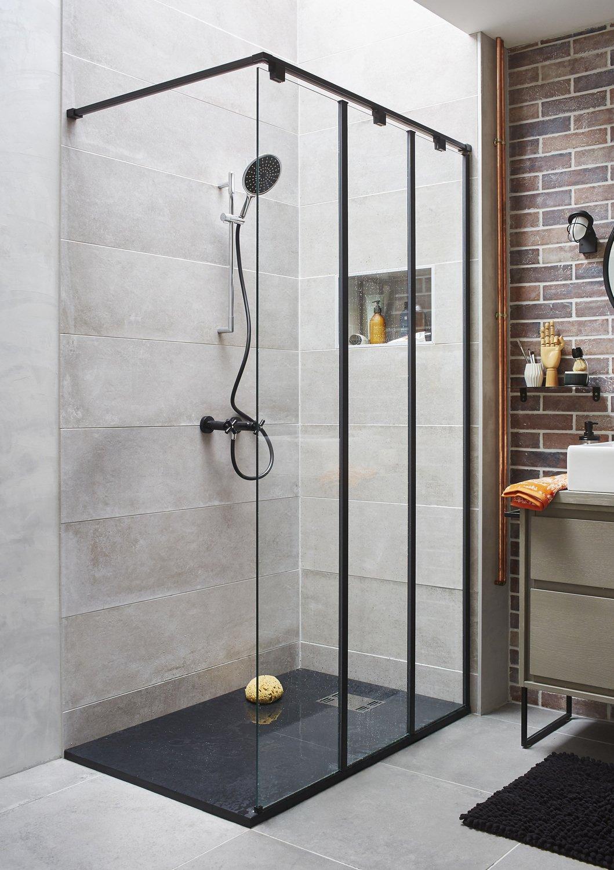 Une salle de bains installée dans un loft  Leroy Merlin