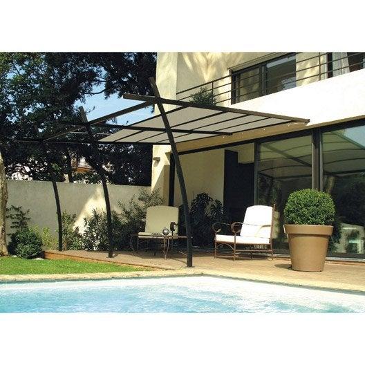 tonnelle adoss e store en toile acrylique sydney l 3 x l 4 m leroy merlin. Black Bedroom Furniture Sets. Home Design Ideas