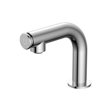 Robinet de lave-mains eau froide chromé brillant SENSEA Talim