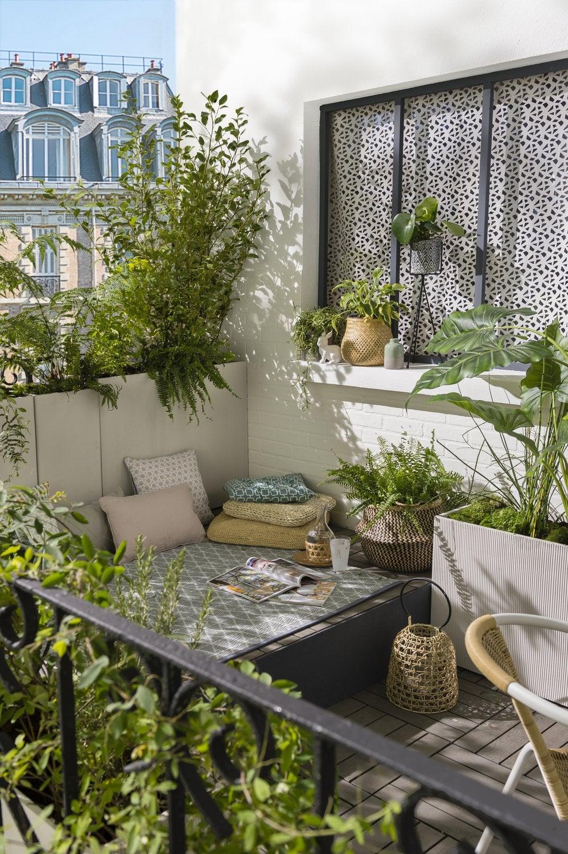 Coin Détente Petit Jardin Zen petit coin détente sur le balcon | leroy merlin