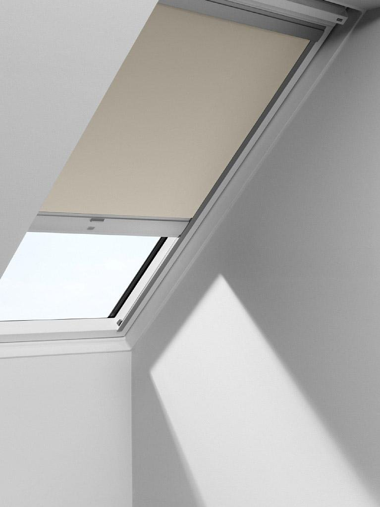 Store Velux Occultant Solaire Beige Dsl M04 Leroy Merlin