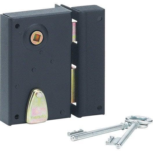 serrure monopoint en applique serrure et cylindre de serrure au meilleur prix leroy merlin. Black Bedroom Furniture Sets. Home Design Ideas