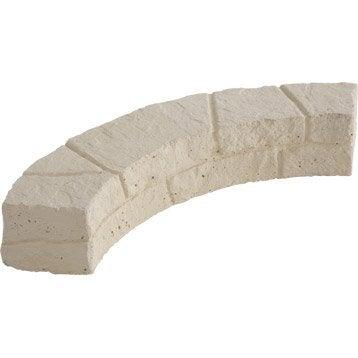 Bordure de jardin bois b ton plastique pierre acier ardoise pierre reco - Bordure pierre reconstituee ...
