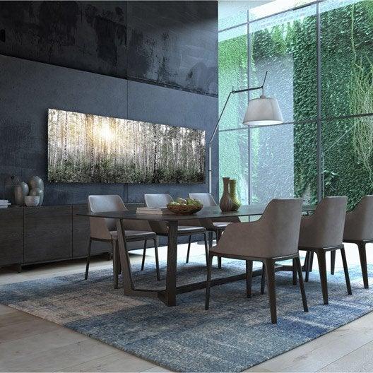 radiateur lectrique rayonnement decowatt foret 1200 w. Black Bedroom Furniture Sets. Home Design Ideas