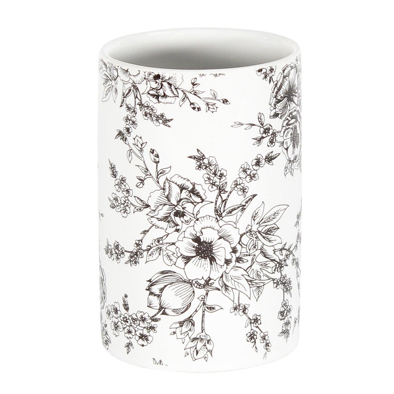 Gobelet céramique Gabriel, blanc, gris zingué 1