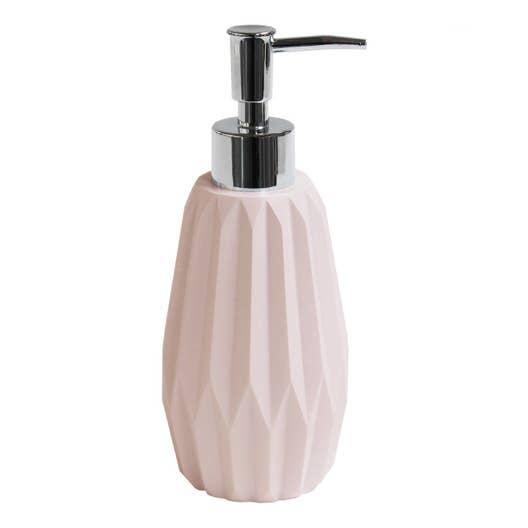 Accessoire Salle De Bain Rose Poudre ~ distributeur de savon issey rose blush n 4 leroy merlin