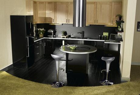 La cuisine s'aime en noir