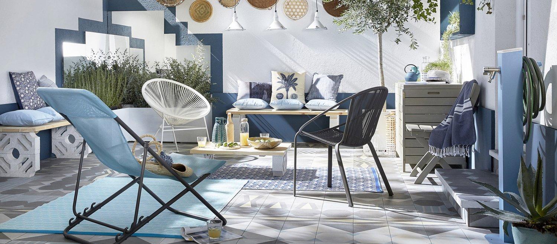 un patio comme en tunisie leroy merlin. Black Bedroom Furniture Sets. Home Design Ideas