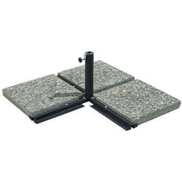 Pied en croix à lester Pied en croix gris