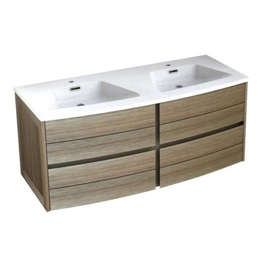 meuble vasque 120 cm fairway leroy merlin. Black Bedroom Furniture Sets. Home Design Ideas