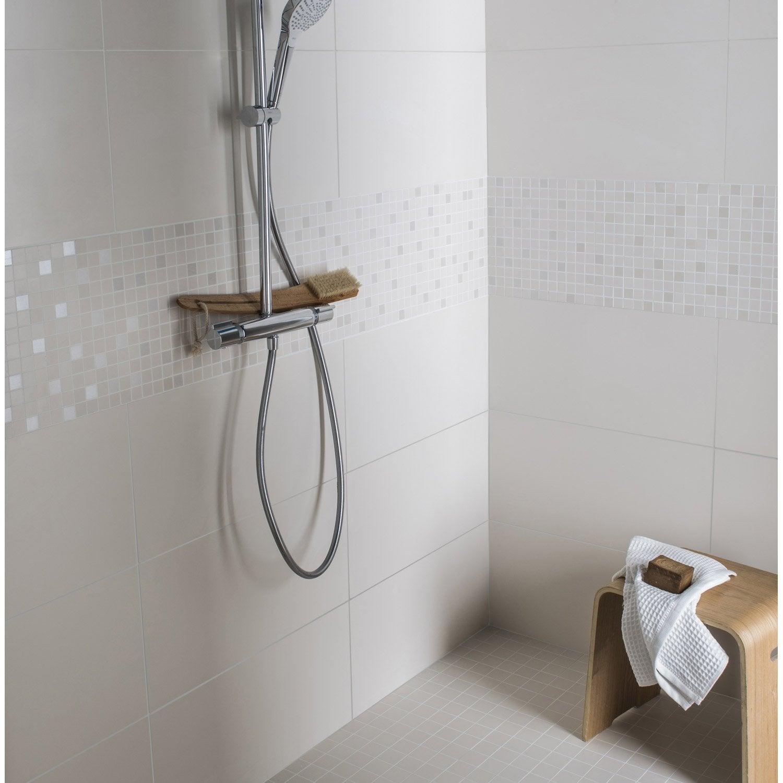 mosa que mur purity beige 2 5 x 2 5 cm leroy merlin. Black Bedroom Furniture Sets. Home Design Ideas