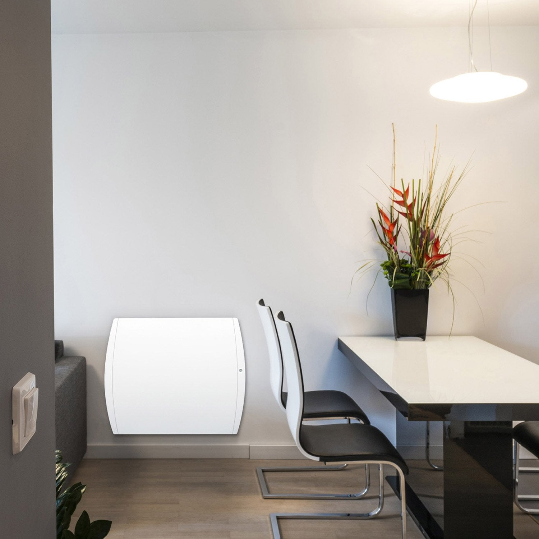 radiateur lectrique double syst me chauffant airelec perfecto 1500 w leroy merlin. Black Bedroom Furniture Sets. Home Design Ideas