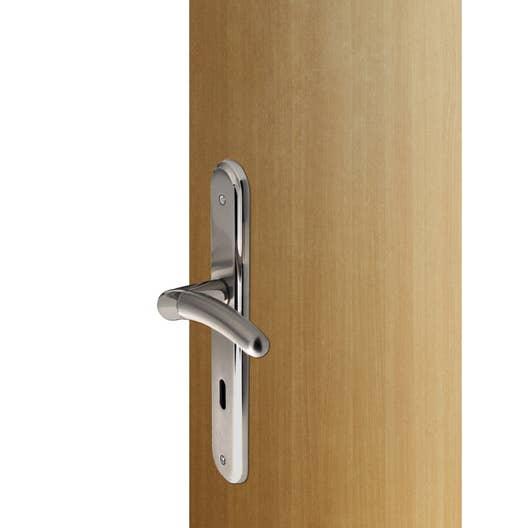 2 poign es de porte babette trou de cl inspire laiton 195 mm leroy merlin. Black Bedroom Furniture Sets. Home Design Ideas